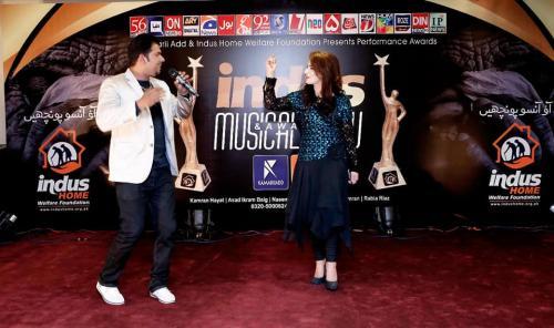 انڈس میوزیکل ایوارڈ شو11