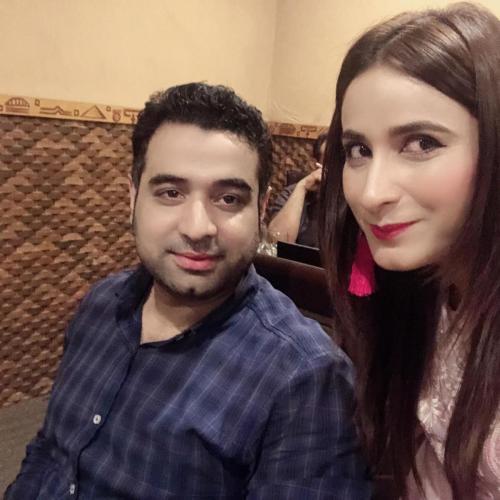 ماڈل اداکارہ ہوسٹ ثمرانہ شاہ14