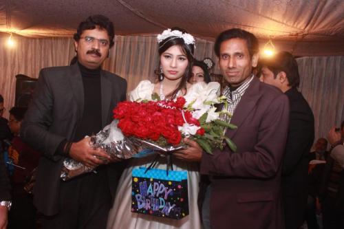 ماڈل بیا خان کی سالگرہ 19
